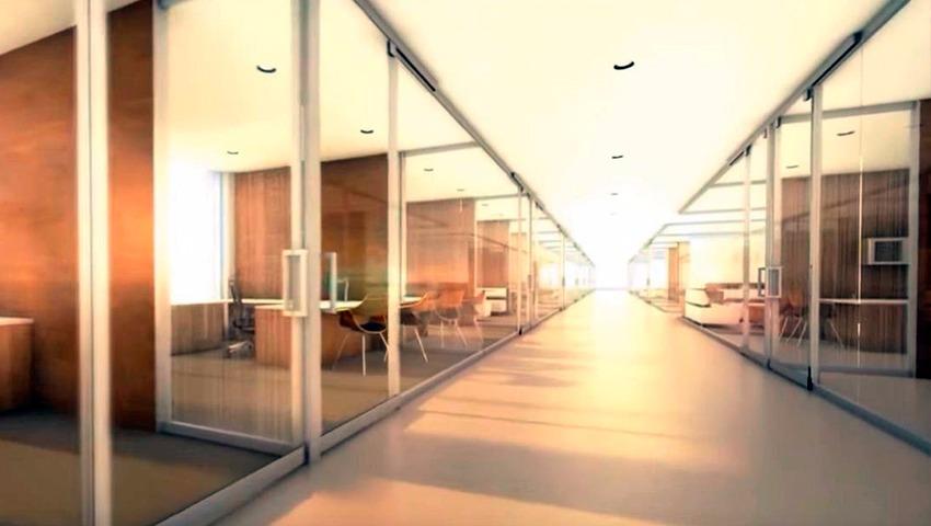 Divisorias de oficinas con cristal en Valencia