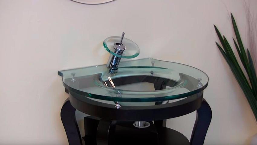 Lavavbs modernos de cristal
