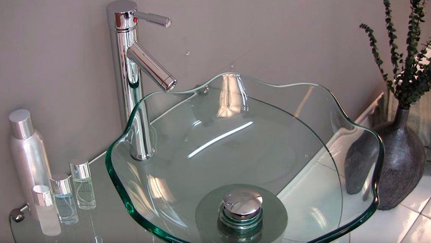 Comprar lavabos de cristal
