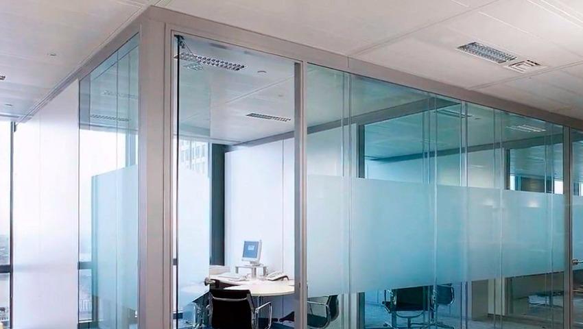 paredes de cristal en valencia para oficinas