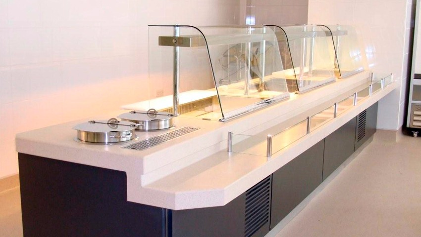 mostradores de cristal en valencia